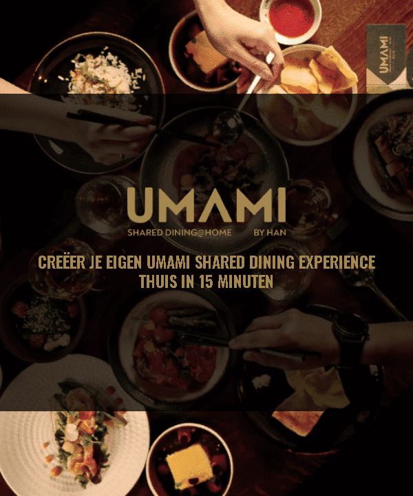 Header mobiel Umami shared dining